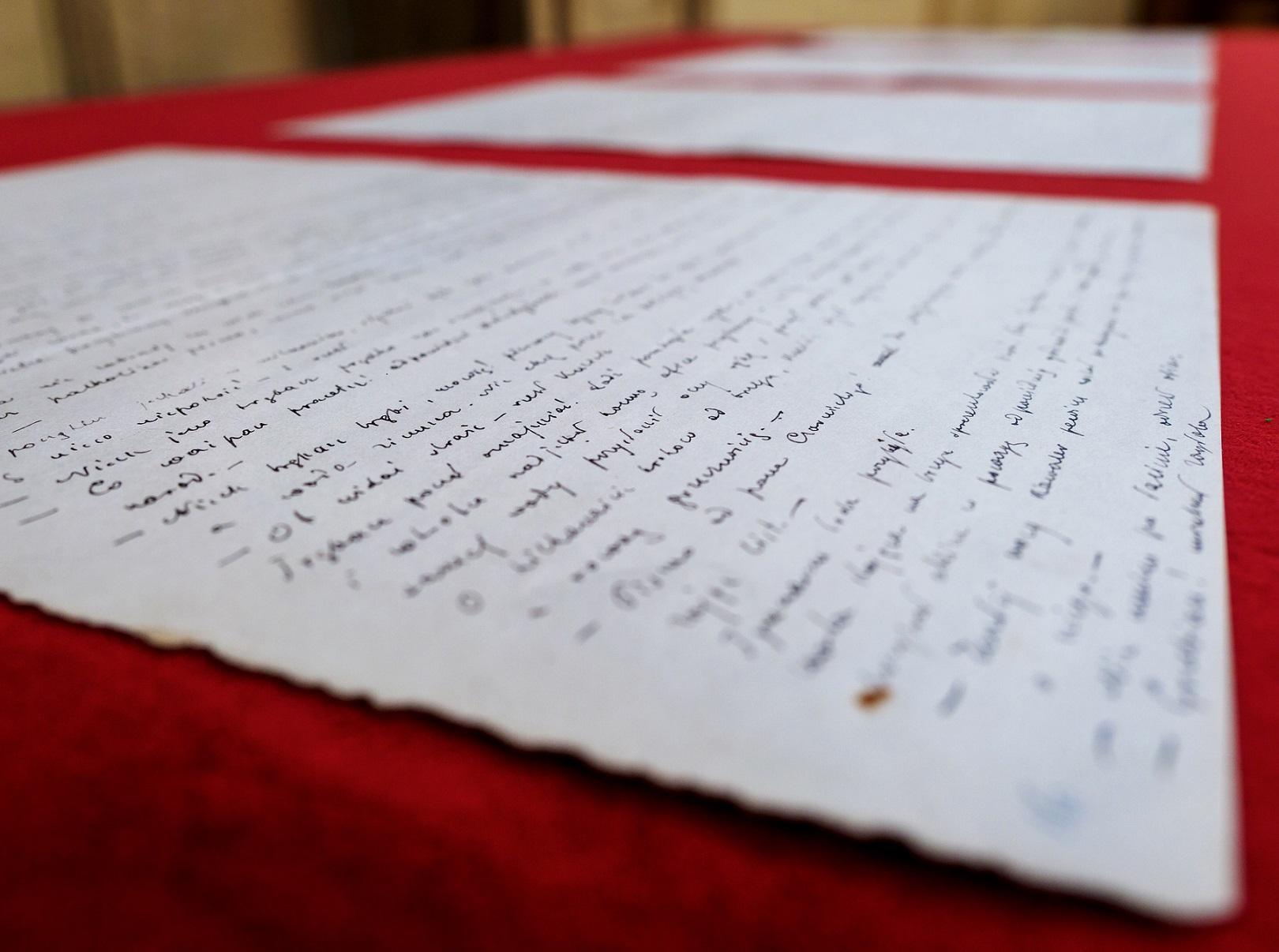 """Zakup rękopisów """"Potopu"""" zainaugurowało działalność Fundacji"""
