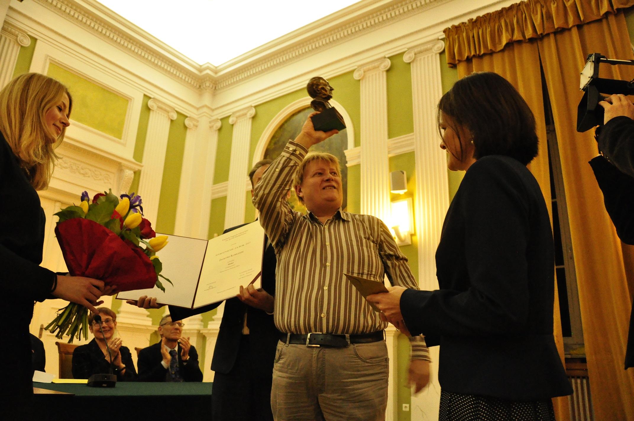 Nagroda literacka im. Józefa Mackiewicza – ufundowaliśmy wyróżnienie