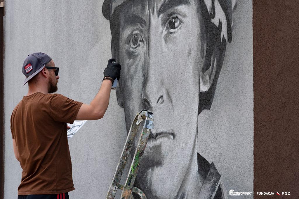 Wyjątkowy mural hołdem dla bohaterów Powstań Śląskich