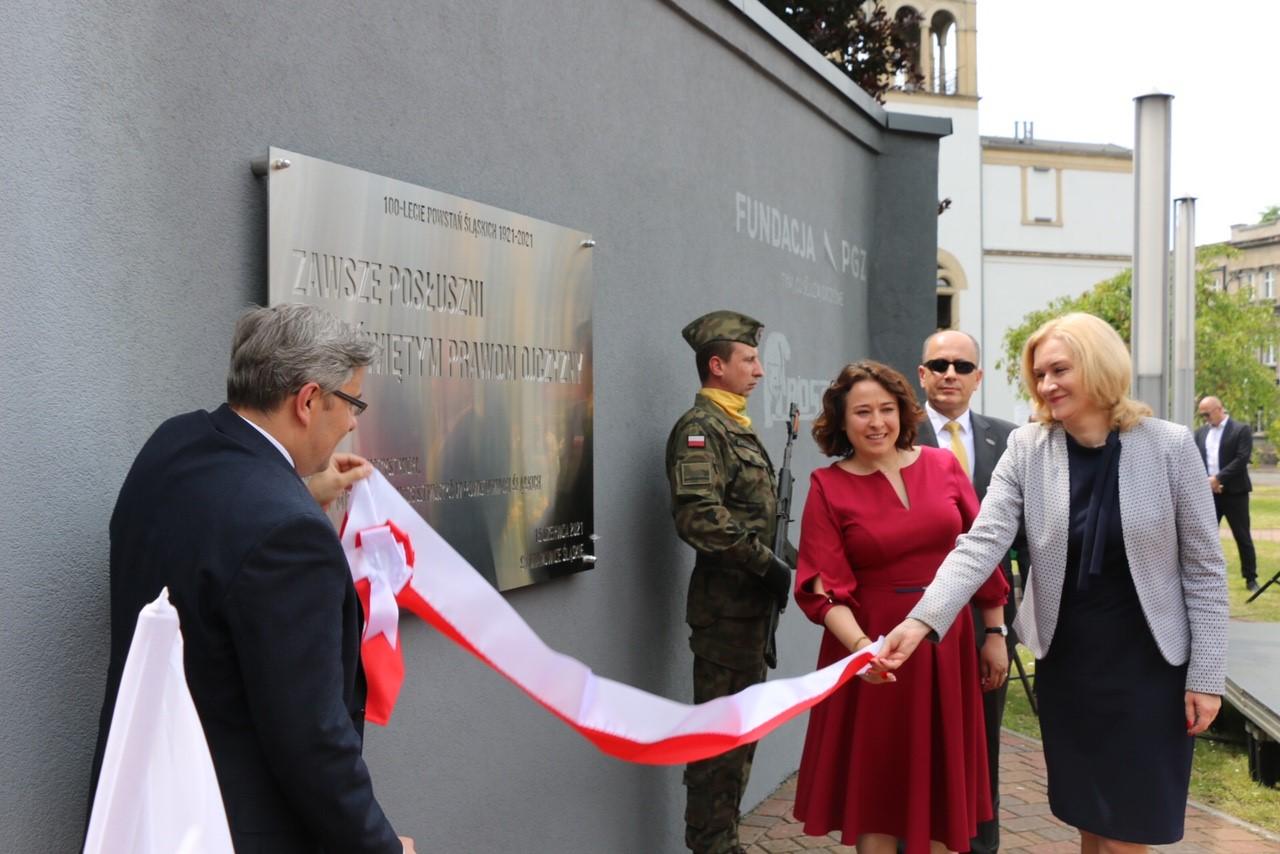 Mural na 100-lecie Powstań Śląskich